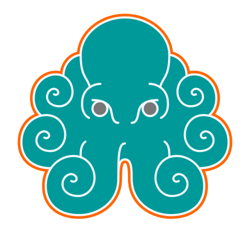 Common Octopus Logo